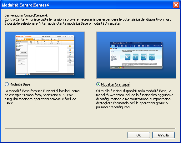 10 Come eseguire la scansione da un computer 10 Scansione di un documento come file PDF utilizzando ControlCenter4 (Windows ) 10 (Per utenti Macintosh) Consultare Scansione in Guida software