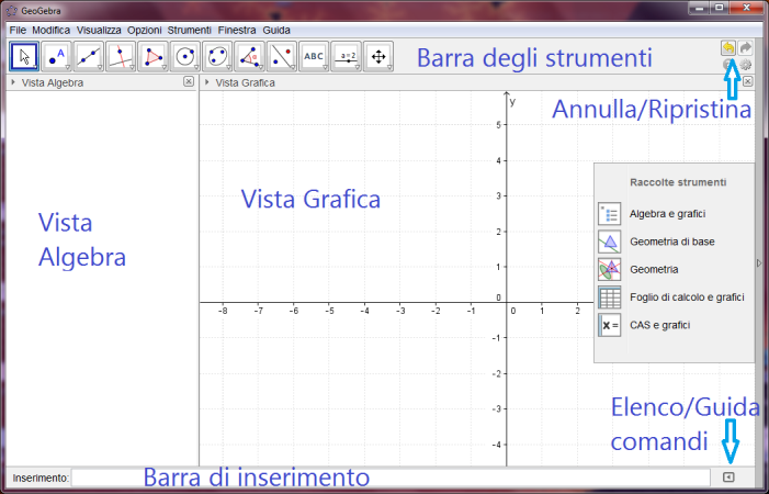 statistica interattive Un software Open source, scaricabile gratuitamente da www.geogebra.