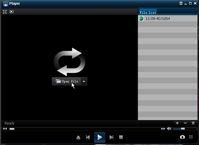 5.3.3.4.3 Backup di Media Player 1 Copiare un file di backup nel PC.