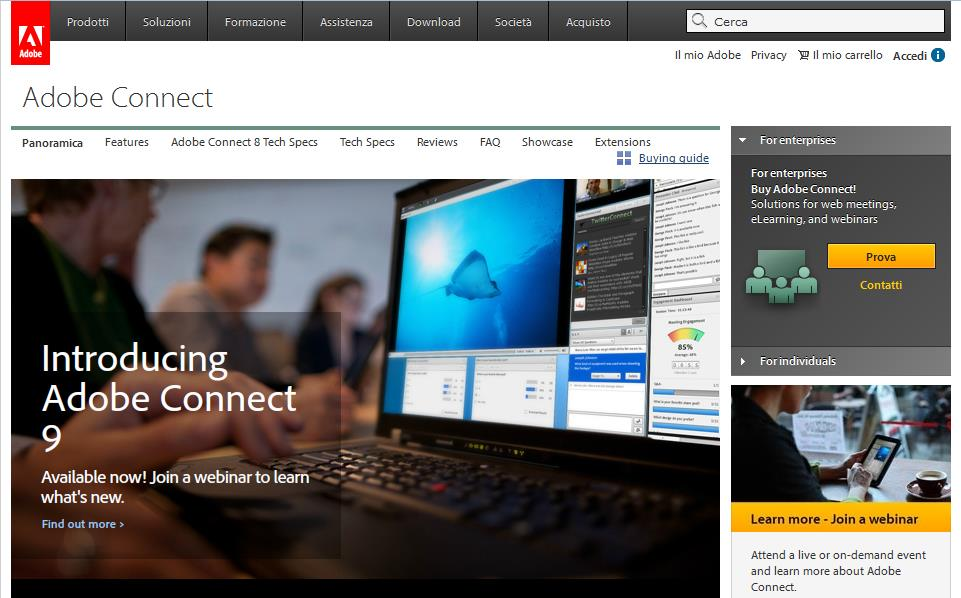 Adobe Connect http://www.adobe.