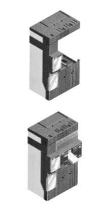 Serie TMAX TMAX Series Legenda Caption 1) Solenoide di apertura a differenziale 1) Opening solenoid for residual-curren relays 1 Denominazione ricambio Cod.