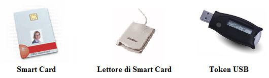 3.3.3 Smart card e Token USB 53 3.3.3 Smart card e Token USB La smart card è un dispositivo hardware, evoluzione della normale tessera magnetica.