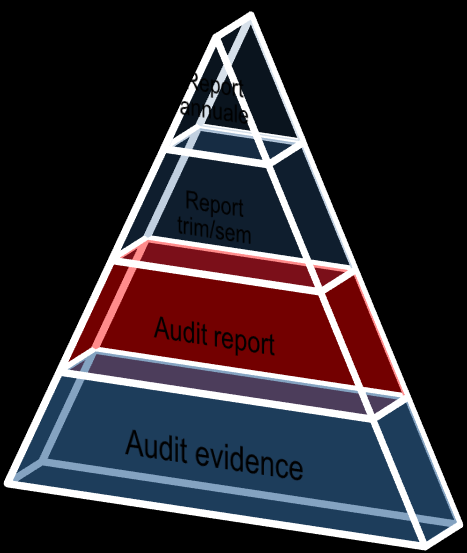 Audit cycle Planning Executing / Reporting 1 Piano priorità Report annuale