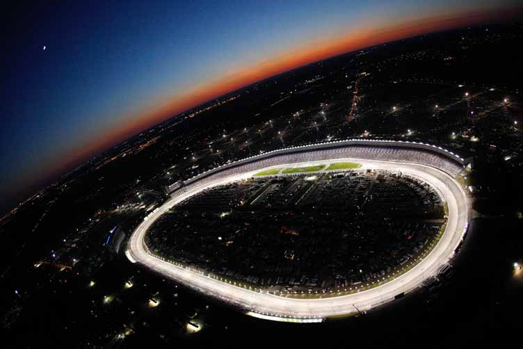 83535748, Chris Graythen/Getty Images. A general view of the track during the NASCAR Sprint Cup Series Dickies 500 at Texas Motor Speedway on November 2, 2008 in Fort Worth, Texas.