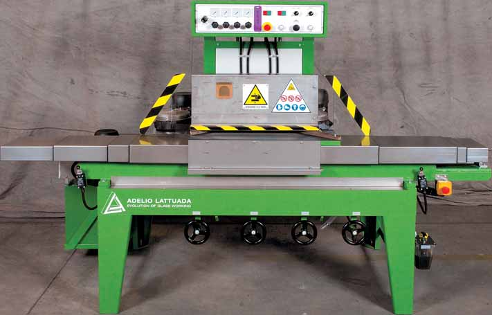 Macchine automatiche per l esecuzione di angoli a raggio e retti Automatic corners grinding machines for the processing of radius and straight corners