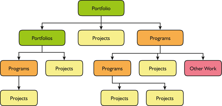 Portfolios, Programmi e Progetti Source: The Standard for