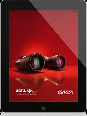5. Business case 5.1. Agfa Professional - Grafitalia (Saysoon CATALOG) Disponibile su App Store (https://itunes.apple.com/it/app/agfa-grafitaliaitalia/id642399838?