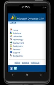 Horizontal Solutions CRM MARKETING SALES SERVICES ANALYTICS ON TOUCH MOBILITY VIRTUAL