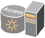 Infrastruttura di accesso Infrastruttura AAA Certification Authority OpenLDAP Cluster CRL FreeRadius Cluster Accounting Authorization Authentication 802.