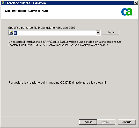 Metodi di ripristino di emergenza in Windows Server 2003 e Windows XP 9.