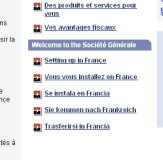 information and useful addresses to help you when you set up in France.