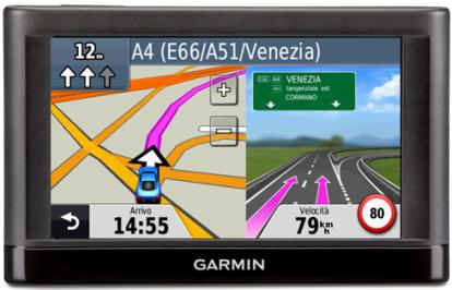 "CAR NAVIGATORS serie ESSENTIAL nüvi 55 (WE) Cartografia precaricata Europa 24 paesi Schermo TFT Touch Screen WVGA 5"" retroilluminato."