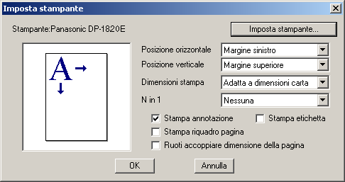 Document Viewer Menu File Stampa Consente di stampare un documento durante la modifica.