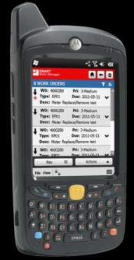 cycle counts quickly Check availability of materials while on-the-job Accept & distribute incoming materials by PO Take measurements and readings Historic standards and safe ranges Generate