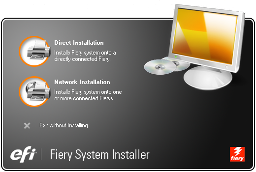 3. Seguire i passi da 1 a 5 della procedura To install system software over the network port (Per installare il software di sistema sulla porta di rete) nel manuale Installation and Service Guide. 4.