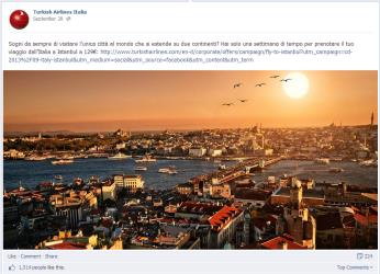 TURKISH AIRLINES ITALIA COMMUNITY MANAGEMENT Edelman Digital Italia elabora la strategia di comunicazione nazionale sui social media e il management della community per Turkish Airlines in Italia su