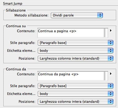 Capitolo 04 Smart Connection per InDesign 3.6.
