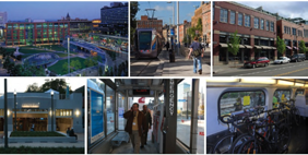 BENEFITS OF TOD Higher quality of life Better places to live, work, and play Greater mobility with ease of moving around Increased transit ridership Reduced traffic congestion and driving Reduced car