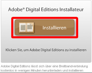 1. Installare Adobe Digital Editions Installare il
