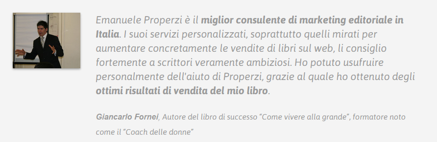 Trascrizione del Video 1 di Librovincente.