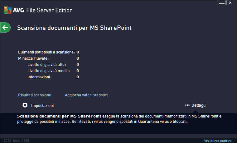 5. Scansione documenti per MS SharePoint 5.1.