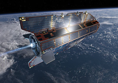 GOCE (ESA) 77 Il satellite GOCE (Gravity Field and Steady State Ocean