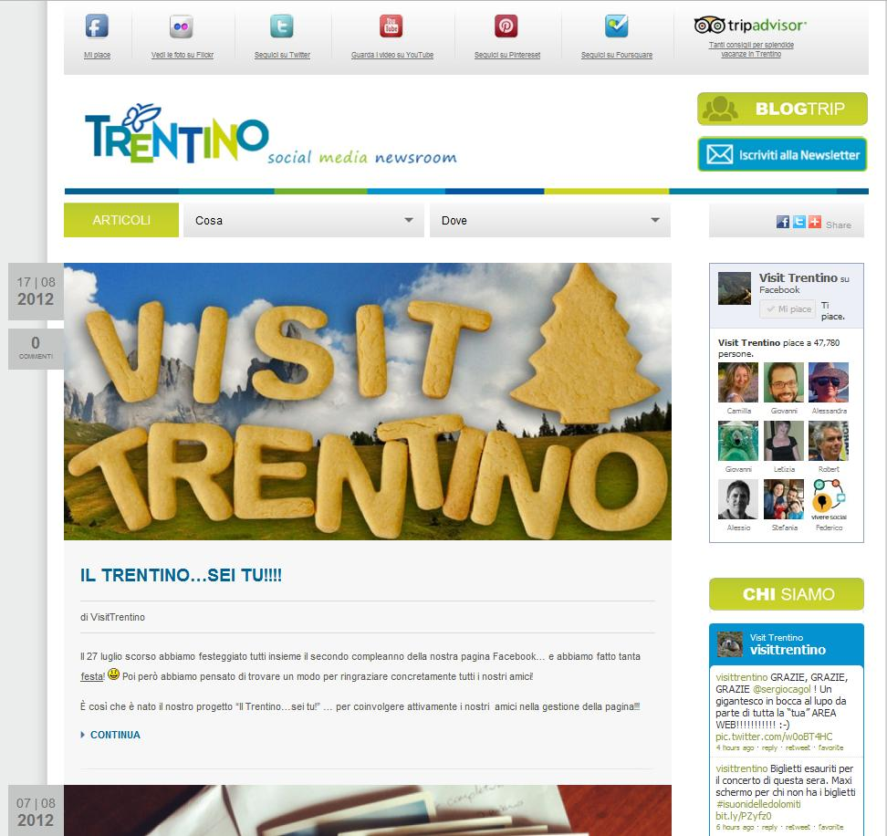 Trentino Social Media Newsroom