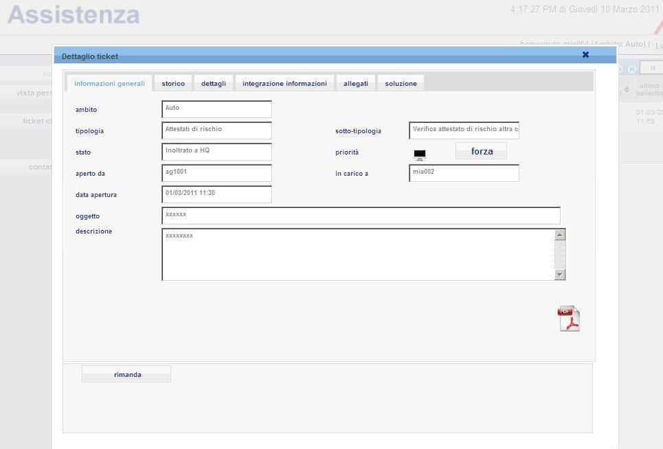 Features funzionali BT: solution description GUI custom 1.LOB differenti GUI differenti 2.