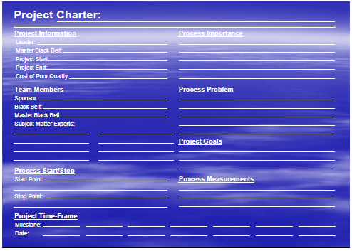 Illustration 2.1.2: Project Charter 32 The project charter is a summary of the project work plan that describes the assumptions characteristics and objectives.