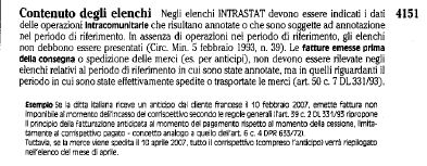 COMPETENZA INTRASTAT