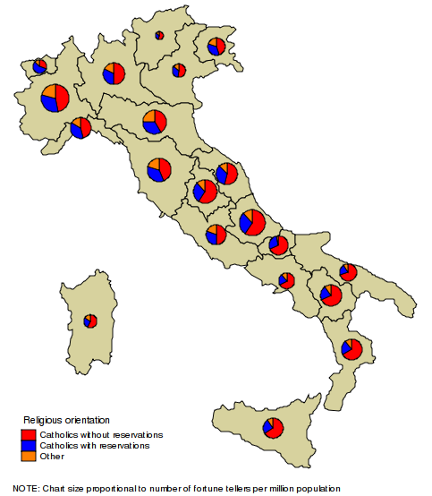 "A. spmap: Visualization of spatial data A.14. Graph options spmap using ""Italy-RegionsCoordinates."