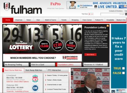 www. fulhamfc.uk del sito commerciale $ 30.667 $ 42,01 (14.