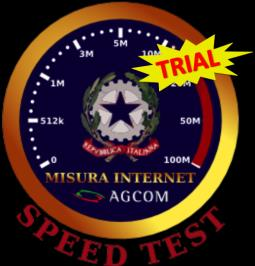 Misura Internet Speed Test: Graphic User Interface Dal 15