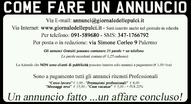 Giornale delle Pulci 091 / 589680 Pagina 3 no, microcippato, pedigree enci, copia documenti genitorie puppy kit.