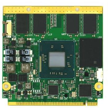 the Intel Atom E3800 and