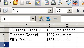 Come importare un file CVS CVS è l'acronimo do Comma Separated Value (valori separati da una virgola). Un file CVS è usato per contenere dati strutturati in forma tabellare.