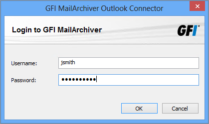 2 Utilizzo di GFI MailArchiver Outlook Connector Quando GFI MailArchiver Outlook Connector è installato, verrà registrato automaticamente in Microsoft Outlook.