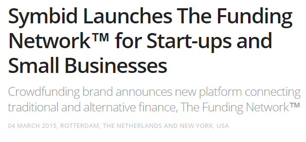 THE FUNDING NETWORK LAUNCH DATE : MARCH 4TH 2015 PERFORMANCE APRIL 16TH FUNDED COMPANIES : 181*