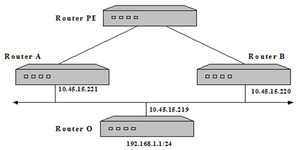 PROTOCOLLI DI ROUTING DINAMICO: BGP, OSPF E RIP Imola User Guide Origin codes: i - IGP, e - EGP,? - incomplete Network Next Hop Metric LocPrf Weight Path *> 10.45.15.192/27 88.58.10.246 1 32768?