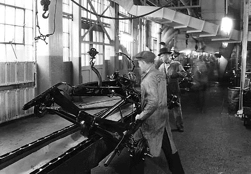 Innovative morphology of processes drive performance (for user benefits) 1913: Ford introduces the assembly line based production process Technology of the product unchanged (car body, power train