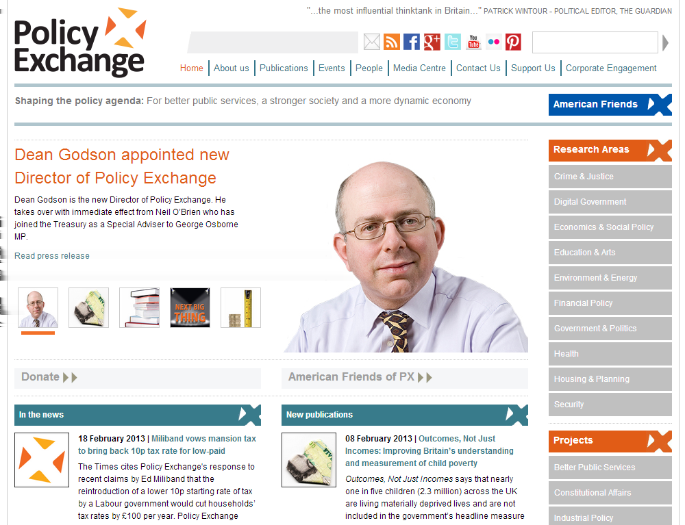 14 Policy Exchange http://www.policyexchange.org.
