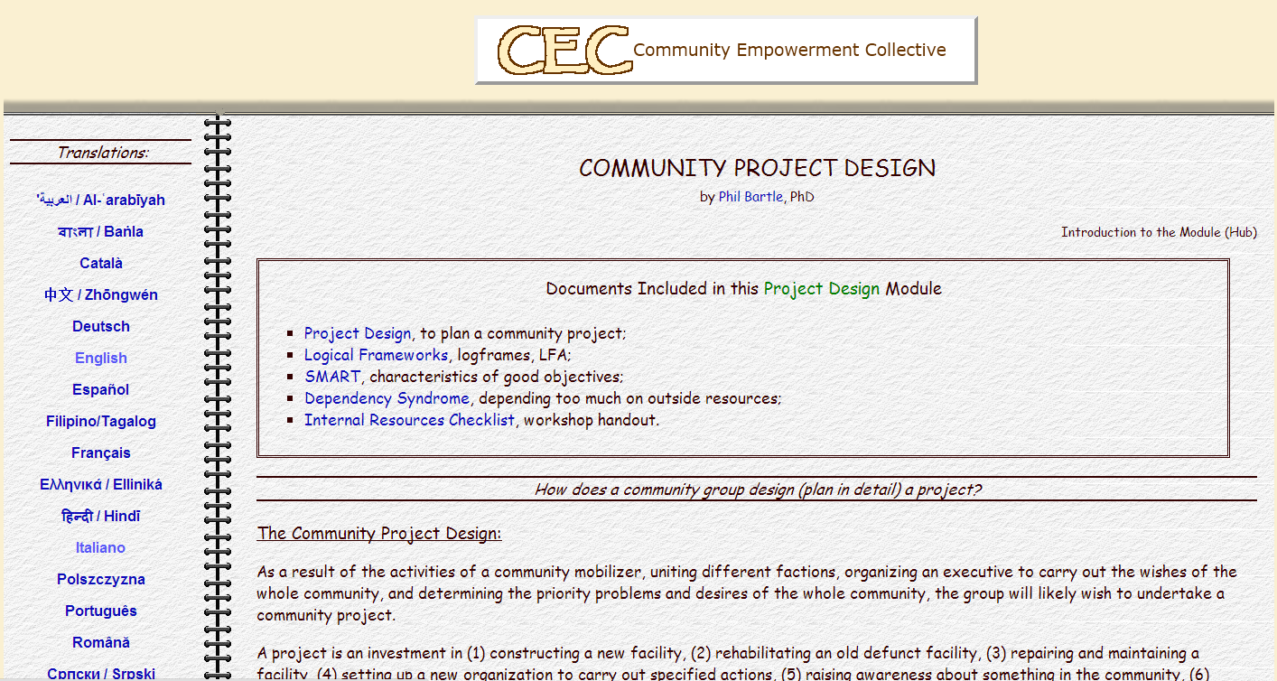 16 Community Empowerment Collective http://cec.vcn.bc.ca/gcad/modules/pd-ini.