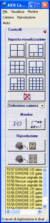Configurazione di AXIS Camera Station Dopo l'installazione del software, è necessario configurare le camere e i video server utilizzati.