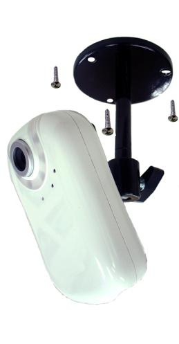 The camera can be assembled in two different ways; either from the top of the unit or the bottom. Assemble the stand and fix it to the cam-era as shown.