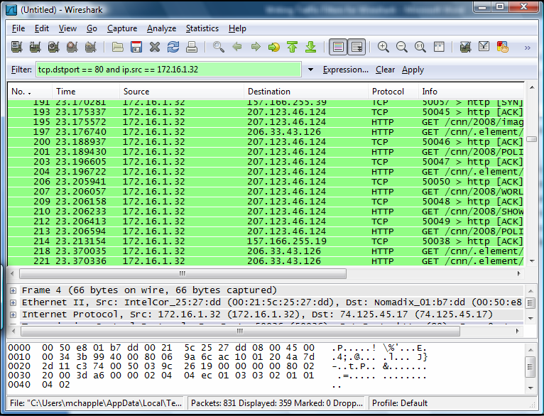 Questo è uno screen di wireshark Ma cosa è possibile fare di specifico con wireshark?