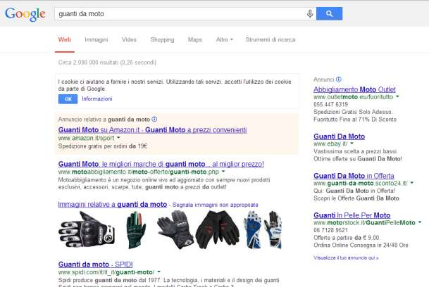 UNA RICRCA SU GOOGL Federico Lomys Marketing e