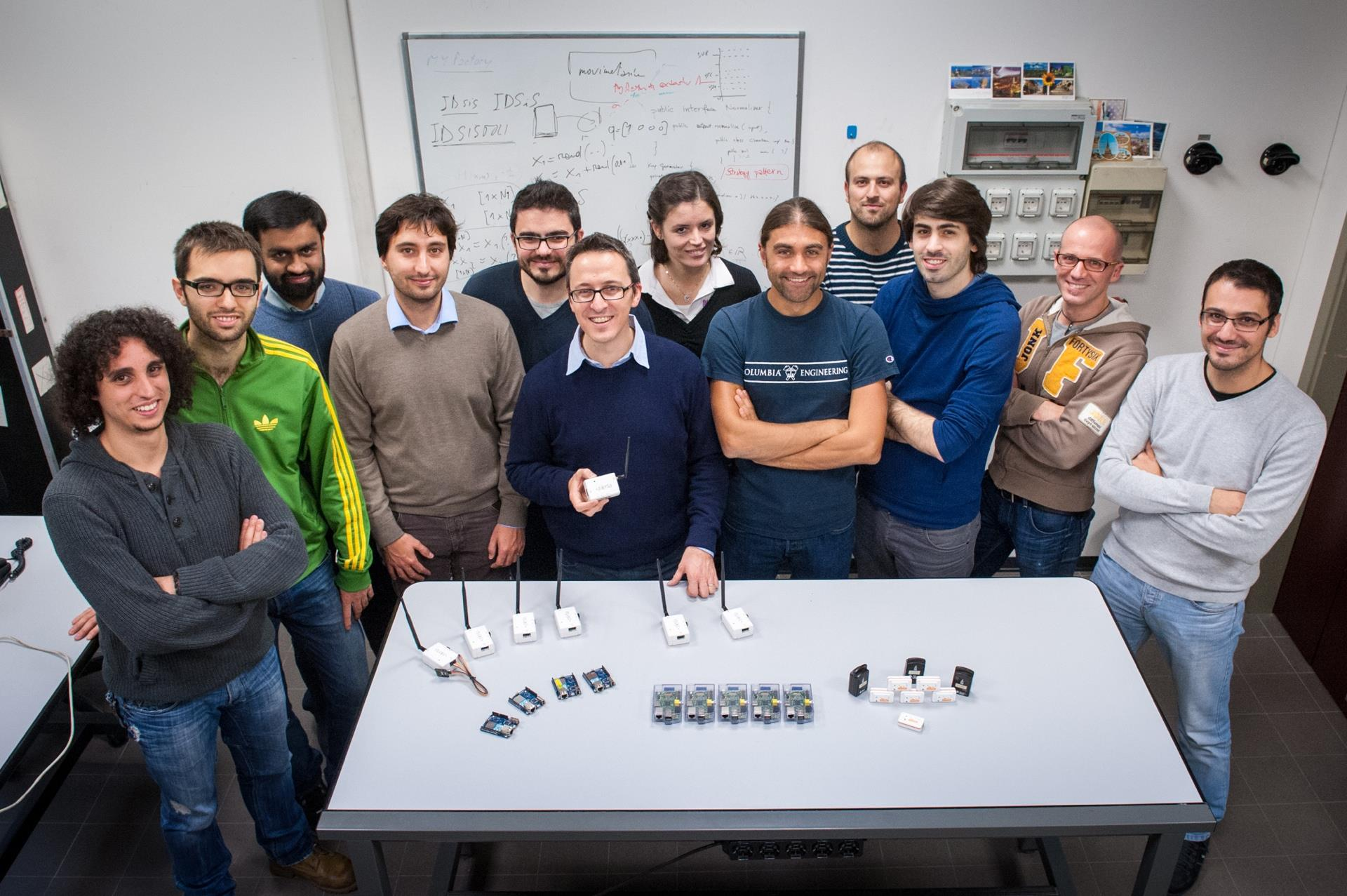 The Group The Wireless Ad-hoc and Sensor Networks (WASN) Laboratory was born