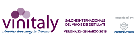 The Biggest & the Best International Wine Show: VINITALY Verona, Italy: 22-5 March 2015 The 49 th VINITALY wine show opens its doors on 22 March 2015 at the Fairgrounds at Verona.