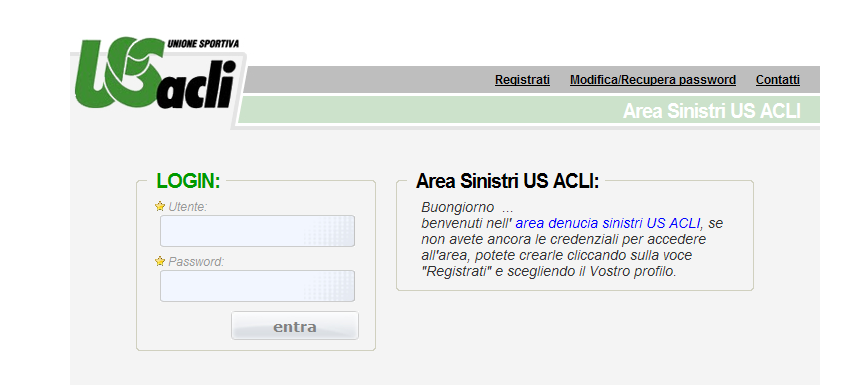 Connettersi a: www.usacli.
