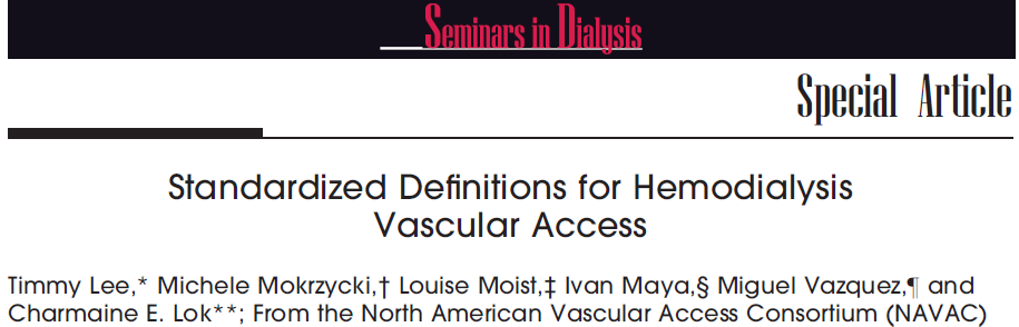 Seminars in Dialysis Vol 24, No 5 (September October) 2011 pp. 515 524 stenosi Hemodynamically Significant Stenosis.